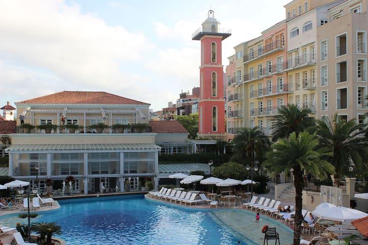 IL Campanário Complexo Turístico - Suite Junior, para até 4 pessoas, junto a praia