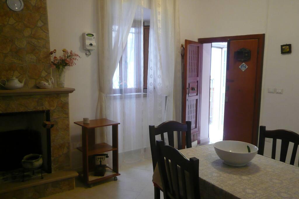 soggiorno ingresso