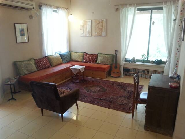 family house 4 minutes from the sea - Gesher HaZiv - Casa