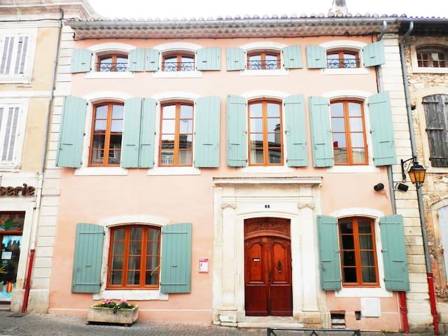 Chambre - Hôtel Particulier Drôme Provençale