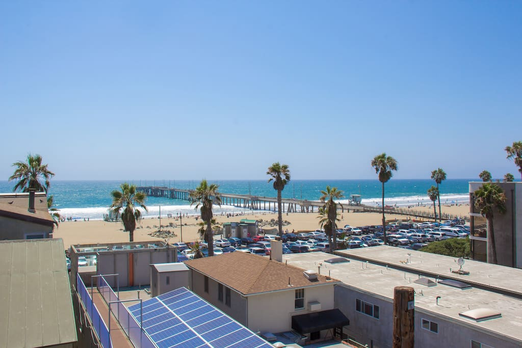Best views of Venice pier from 4 Levels of the home