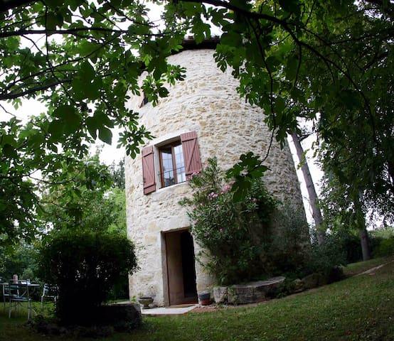 Moulin à vent Gascon XIX° - Fleurance - Rumah