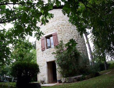 Moulin à vent Gascon XIX° - Fleurance - Talo