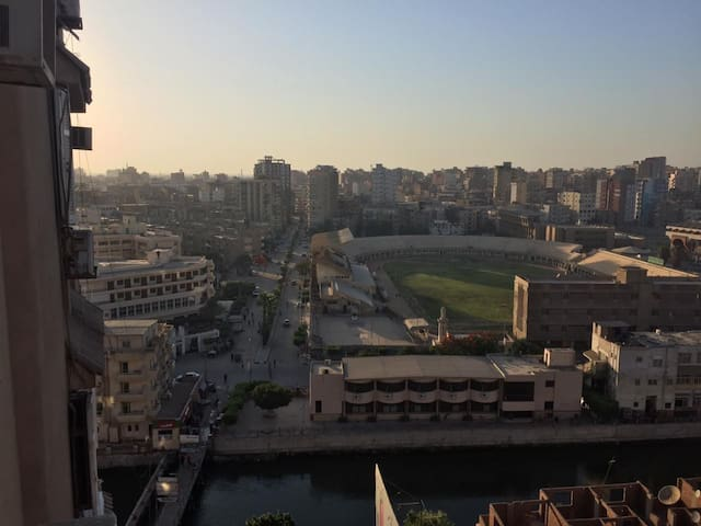 Cozy Clean Apartment with a river view in zagazig