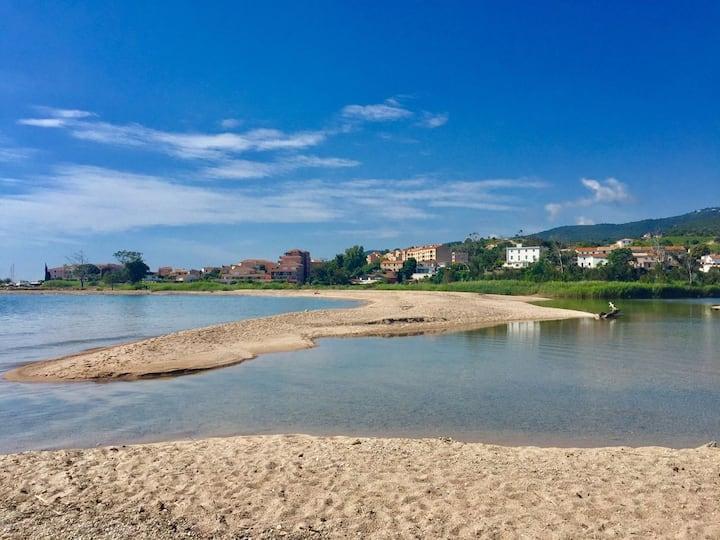 Villa vue mer, plage à 50 mètres
