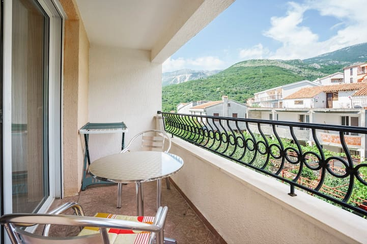 Near Sveti Stefan Apartment for 2-4 people