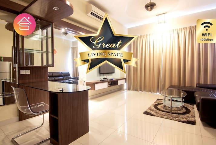 GREAT OFFER★ KL Regalia Suites★ Elegance Room
