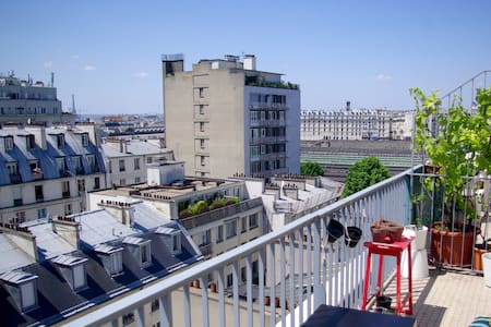 1 Room Apartment with big Terrace
