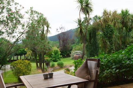 chalet con piscina y jardin privado - Bilbao - Haus