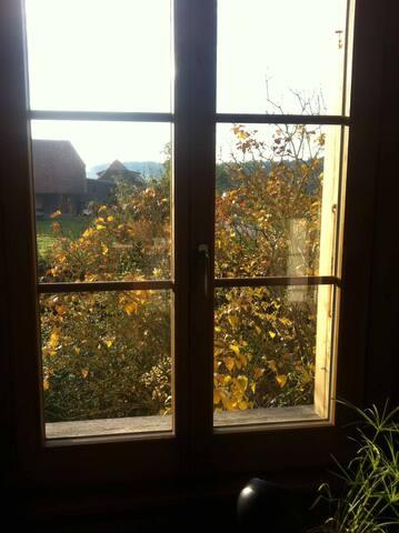 Zimmer mit Morgensonne