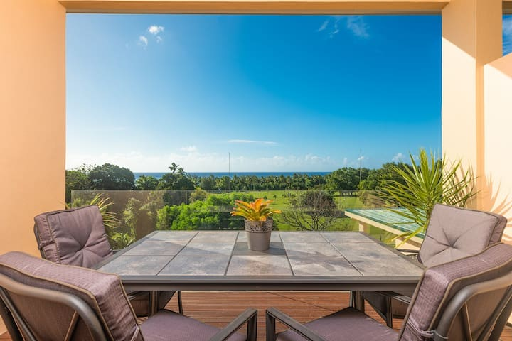 Rarotonga GolfSeaView Two Bedroom Apartment