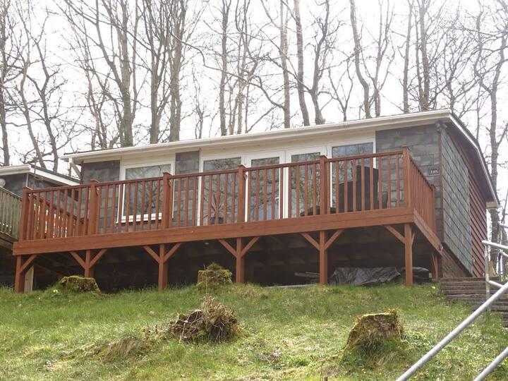 Chalet Glan Gwna holiday park, near Snowdonia