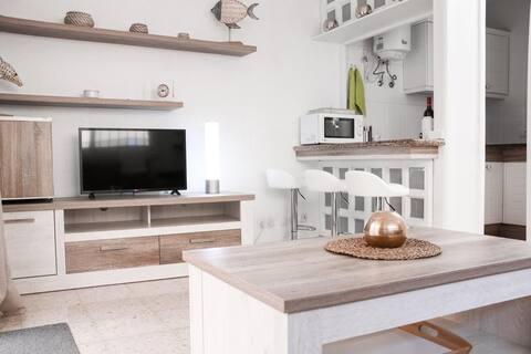 Recién renovado apartamento a 2 min de la playa