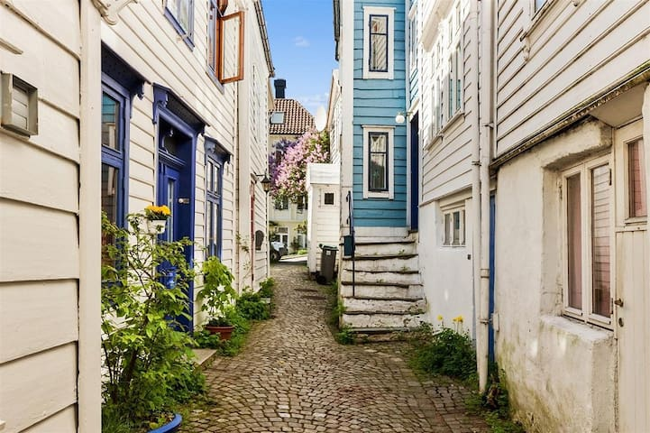 Charming house in one of Bergens old alleyways - Bergen - House