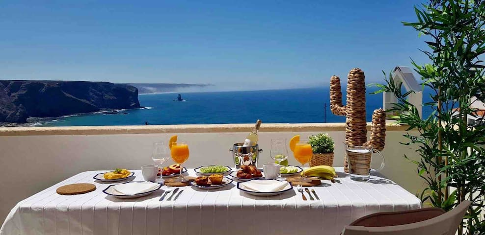 Apartment Praia Arrifana BALCONY and SEA VIEW