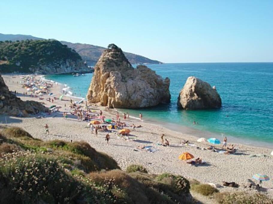 Potistika Beach - Aegean Sea