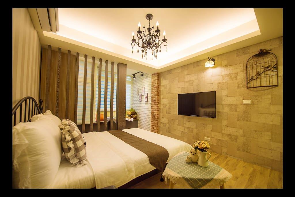 房源的電視牆設計空間