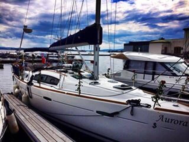 sailboat, 20 min walk to the city - Oslo - Barco