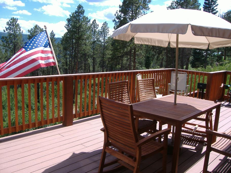 Deck in July