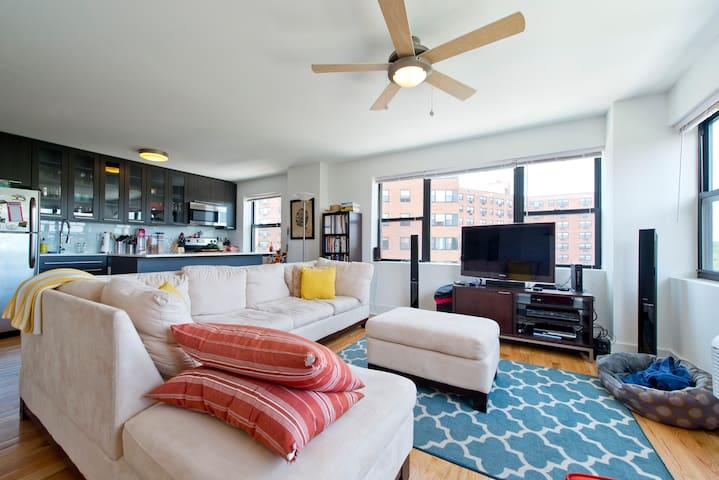 Brand New 2BR/2BA in Doorman Bldg - Philadelphia - Appartement