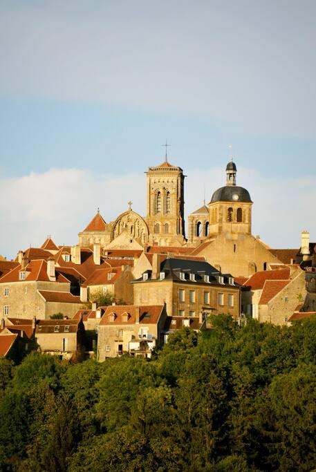 La Basilique, aout 2015 Vézelay Basilica