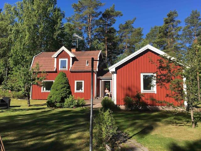 Vacker boende i skärgården  45min till Stockholm