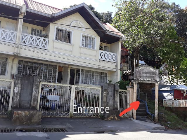 Two storey House in front of Hinulugang Taktak