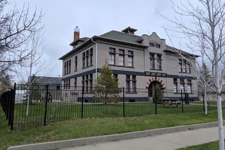 Historic schoolhouse condo near downtown!