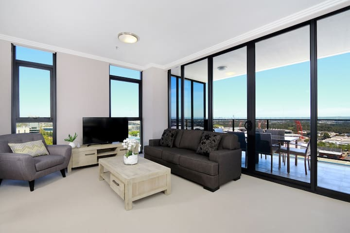 3 bedrooms on Level 17 Australia Towers - ParkView - Sydney Olympic Park