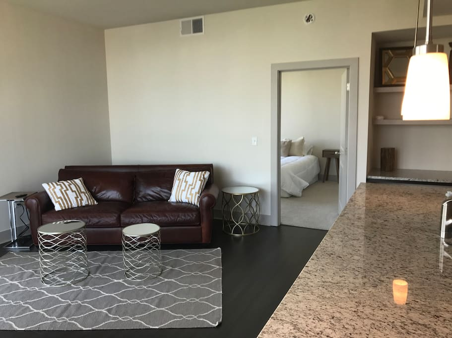 Living Room and Master Bedroom