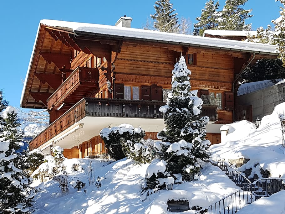 Chalet Moosrain Winter