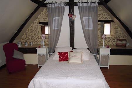 Chambre 2 pers + petit déjeuner - Marigné-Laillé - House