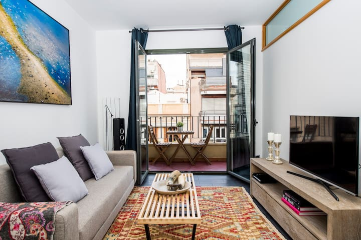Chic and Cozy Apartment in Barcelona 3