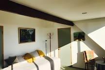 Bedroom One, Tutanekai Suite -King Single Bed