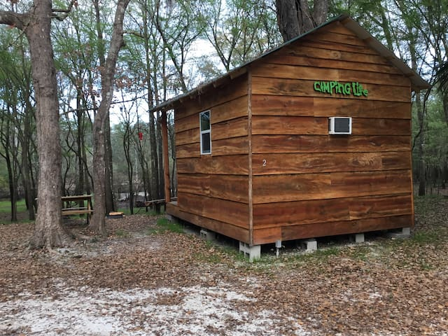 Bowman's Landing- Rustic Cabin 2 on the Santa Fe