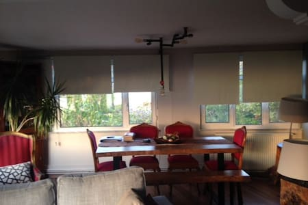 Boğaz manzaralı yeni dekore edilmiş... - Sarıyer - Haus