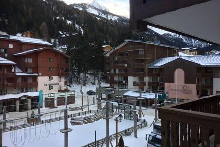 Apartment with great views next to ski lift - Modane - Pis