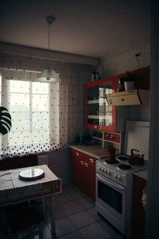 Unique Soviet Apartment inspired by HBO Chernobyl