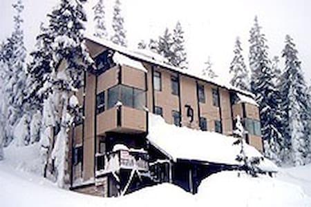 Mt. Washington, Alpine Family Fun House - Courtenay - Chalet