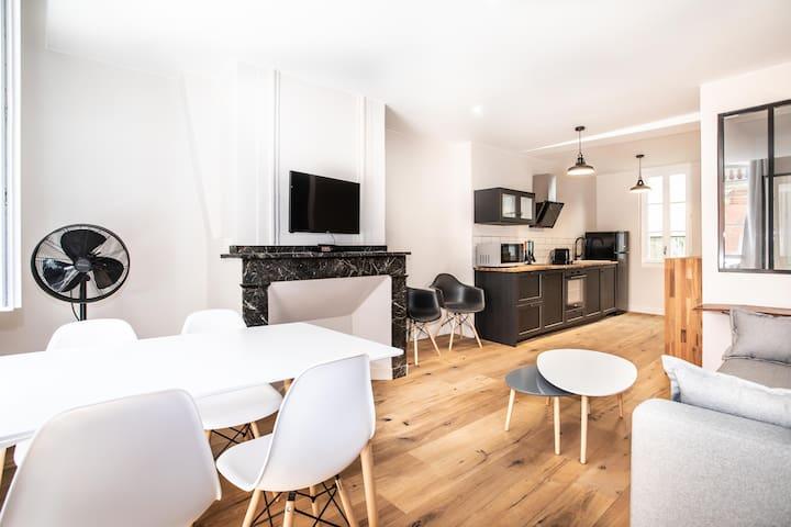★ Appartement 4, lumineux calme - Carmes, Toulouse