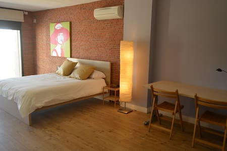 ★Spacious 100m² LOFT★ NETFLIX & free Parking - Madrid - Loft