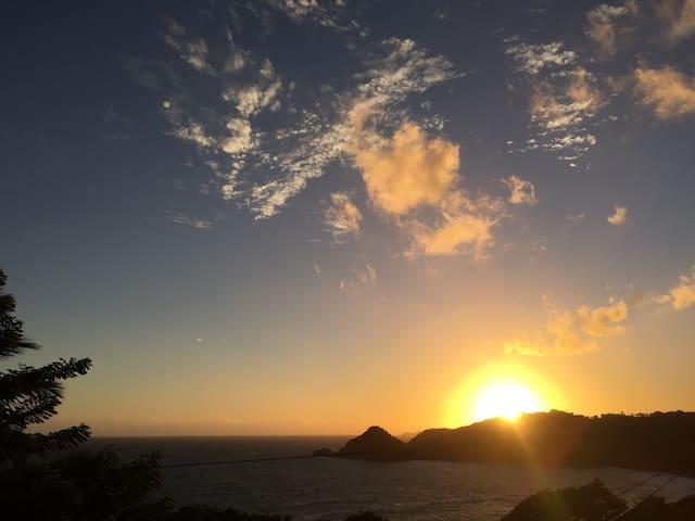 Vue imprenable sur océan Atlantique - Marigot - Huis