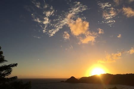 Vue imprenable sur océan Atlantique - Marigot - Hus