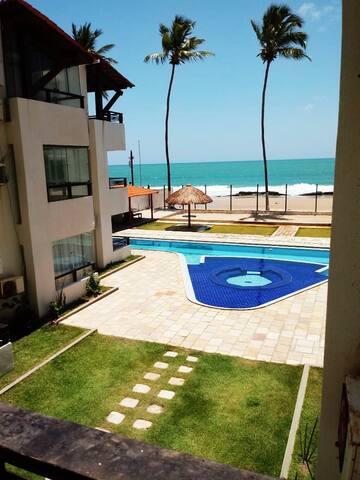 Apartamento Beira Mar Enseada dos Corais (117)