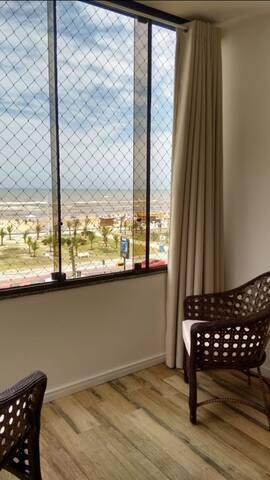 Linda vista a Beira Mar