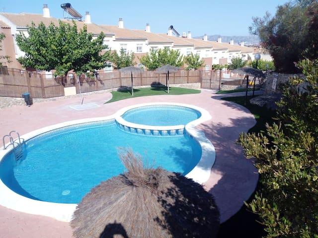 Habitación  doble dúplex con piscina