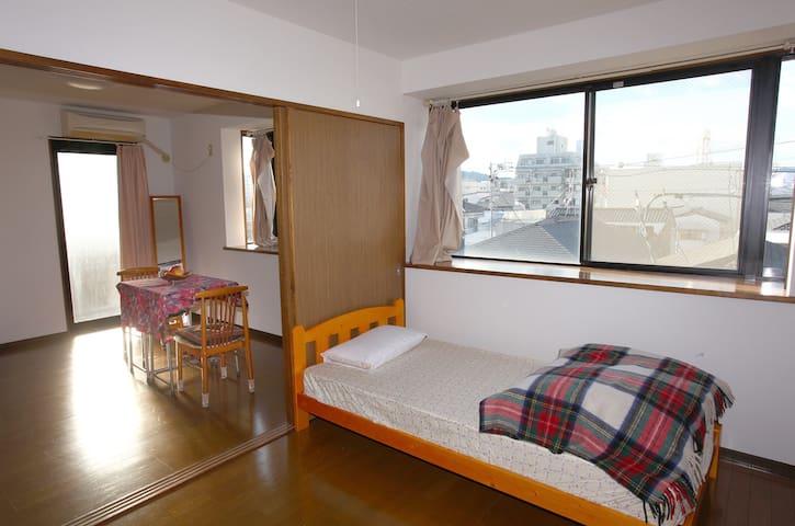 space M B2 single room - Aoi-ku, Shizuoka-shi - Lejlighed