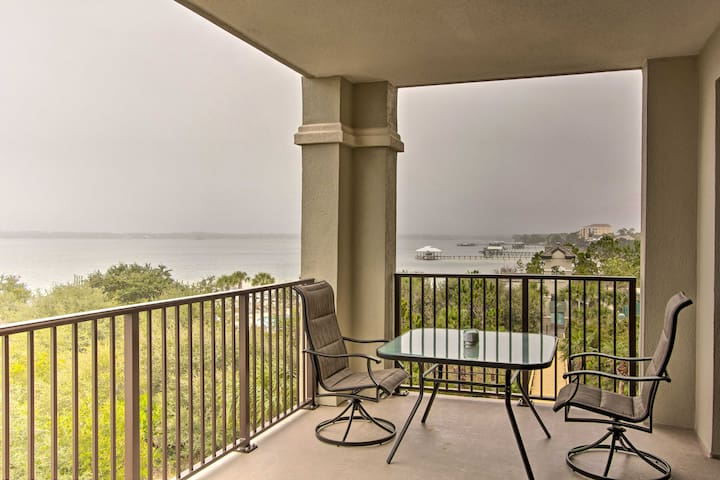 NEW! Ornate Resort Condo w/Pool Access, Water View