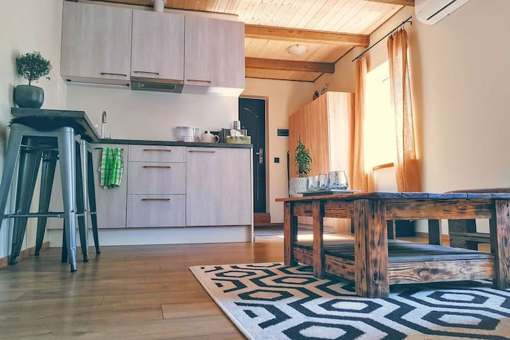 COZY 2 ROOM FLAT NEAR CITY CENTER