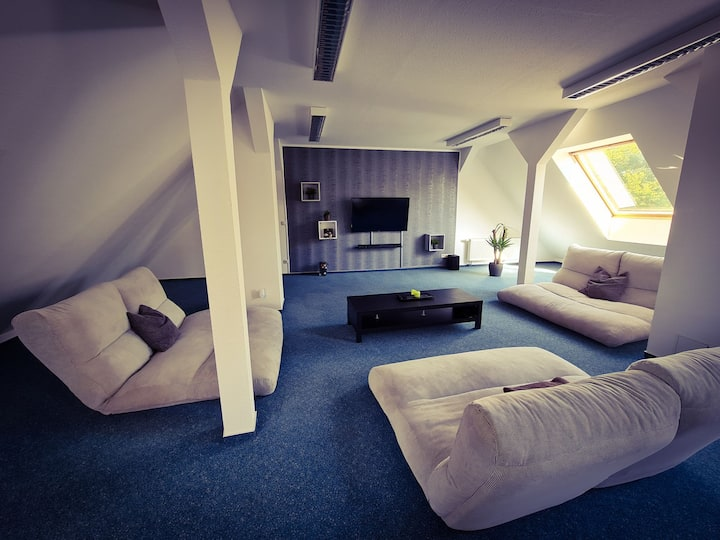 Private Bedroom with  Living room